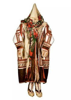 Зимний женский костюм ханты