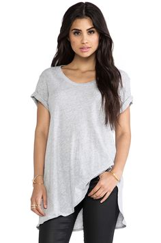 Shop for LNA Ensenada Tee in Heather Grey at REVOLVE. Free day shipping and returns, 30 day price match guarantee. Shirt Outfit, Shirt Dress, Revolve Clothing, Cute Dresses, Heather Grey, What To Wear, Dress Up, Shop Sale, Style Inspiration