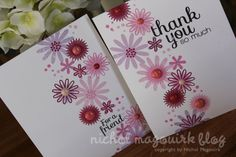 spring cards with March 2013 Simon Says Stamp Card Kit (Video) Nichol Magouirk