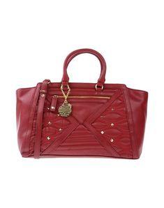 VERSACE JEANS Women's Handbag Maroon -- --