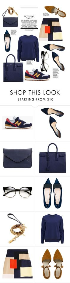 """""""Untitled #75"""" by lookpeople on Polyvore featuring New Balance, Cole Haan, Yves Saint Laurent, Miu Miu, FRIDA, 2NDDAY and MSGM"""