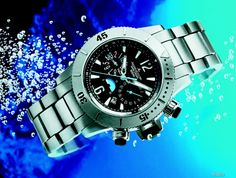 Cool picture of a JLC Master Compressor Diving Chronograph