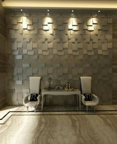 3d wall pannel just stunning