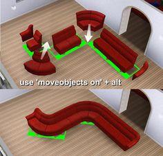 Mod The Sims - Modular Sofa
