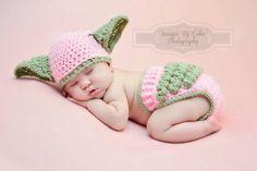 Baby Yoda Hat & Diaper Cover SET Star Wars
