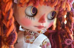 """""""Maggy Muffin"""" Custom OOAK Blythe Doll by Pariszhenpink"""