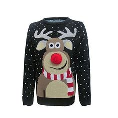 f75a5cdd55c7 8 Best ladies christmas jumpers images