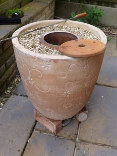 We get so many requests for this and its a fairly simple DIY! How to make a DIY Tandoor oven with Flower Pots Tandoor Oven, Oven Diy, Diy Pizza Oven, Pizza Ovens, Diy Outdoor Kitchen, Outdoor Cooking, Backyard Kitchen, Terracotta Flower Pots, Ovens