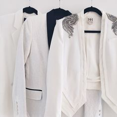 One can never have too many white blazers. Outfit planning for an exciting project in NYC next week. Can't wait to share more details! ✨ Blazer details via @liketoknow.it www.liketk.it/1amfP #liketkit #ootd #alc #hautehippie #theyskenstheory #whiteblazer #Padgram