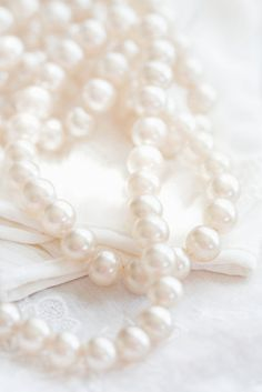 I'll always love pearls :)