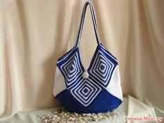 """.  Knit together bag """"Summer mood""""!"""