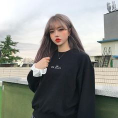 Pretty Korean Girls, Cute Korean Girl, Ulzzang Korean Girl, Ulzzang Couple, Uzzlang Girl, Girl Boss, Asia Girl, Tumblr Girls, Cute Hairstyles