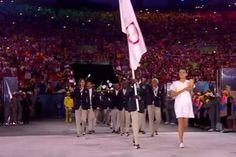 #RioOlympics ~ Refugee Olympic team arrive