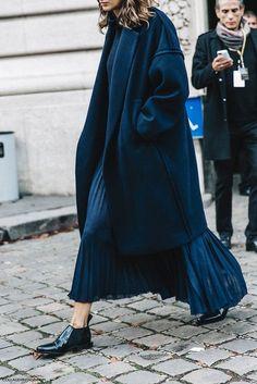 Coat: tumblr black pleated skirt pleated maxi skirt blue skirt sweater black sweater shoes black