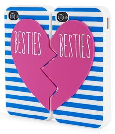 Besties iPhone® Case from Aeropostale. I just need an iPhone to go with it :) Best Friend Cases, Bff Cases, Friends Phone Case, Ipod Cases, Cute Phone Cases, Unicorn Phone Case, Diy Phone Case, Besties, Aeropostale