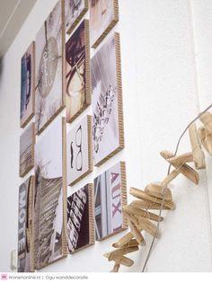 De nieuwe designtrend op het gebied van wanddecoratie! Ogu is opvallend, uniek en gemakkelijk te plaatsen en voorzien van een interessant thema. #ogu #woontrend #interieur #love Vintage Ideas, Decor Interior Design, Gallery Wall, Frame, Diy, House, Inspiration, Home Decor, Picture Frame