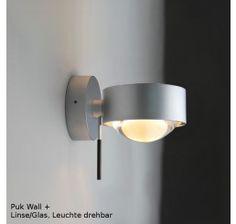 Top Light Puk Wall Plus, Linse/Glas - Leuchte drehbar Wandleuchten bei lampenonline.de unter http://www.lampenonline.de/innenleuchten/innenleuchten-wandleuchten/