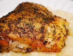 herbes de Provence chicken marinade  then cook in oven or on grill as desired