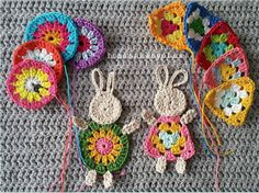 free crochet pattern round up - great grannies