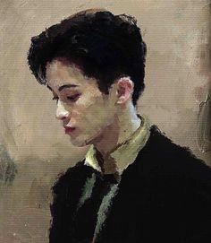 """정형사 on Twitter: """"그려뒀던거 하나씩 맠크… """" Mark Lee, Night Aesthetic, Aesthetic Art, Nct 127, No Rain, Jaehyun Nct, Kpop Fanart, Renaissance Art, Nct Dream"""
