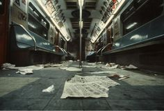 Christopher Morris - NYC Subway 1981