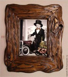 Фоторамки ручной работы. Ярмарка Мастеров - ручная работа. Купить Рамка № 5 для картины, фото. Handmade. Рамка Rustic Frames, Country Charm, Picture Frames, Pictures, Home Decor, Wood Gifts, Picture Walls, Portrait Frames, Photos
