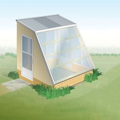 """Small-Greenhouse Plans for Winter Growing"" Forget simply stretching the season by a matter of weeks. Our innovative small-greenhouse plans take solar gain to the nth degree, with a design that's optimized for winter growing. We'll show you how to build a greenhouse that's free-standing and features low-cost glazing and a simple foundation. From MOTHER EARTH NEWS Magazine"