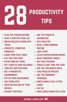 Need some productivity tips? Check out this list of 28 productivity tips that will help you increase your productivity! You want to get stuff done and increase productivity? Learn how to do that here - including 28 actionable productivity tips! Time Management Strategies, Time Management Quotes, Importance Of Time Management, Productive Things To Do, Habits Of Successful People, Productivity Hacks, How To Increase Productivity, Self Care Activities, Self Development