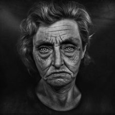 Skid Row 2016 by Lee Jeffries Photography Emotional Photography, Dark Photography, Portrait Photography, Lee Jeffries, Street Photography People, Skid Row, Expressive Art, Face Expressions, Black And White Portraits