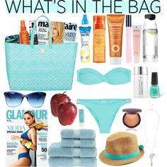 20 Beach Bag Essentials: Beach Packing List | Beach packing lists ...