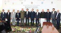 Miguel Ángel Mancera asiste a Reunión de Gabinete de Seguridad Zona Centro