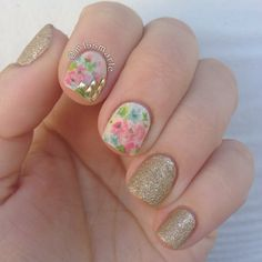 Flowers and studs
