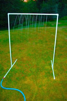 Kids Shower from PVC Looks like such fun on those hot summer days!