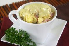 Hungry Girl's Healthy Eggs Bene-Chick Mug Hungry Girl Diet, Hungry Girl Recipes, Mug Recipes, Healthy Recipes, Skinny Recipes, Healthy Foods, Egg Mug, Lemon Yogurt