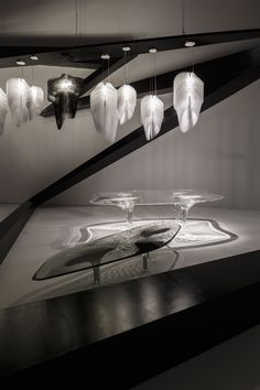 Zaha Hadid_ Tokyo Opera House_ Exposition Aria & Avia by Slamp