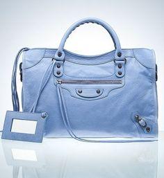 Balenciaga, City handbag, lambskin. $1445 by Angie Tselepi