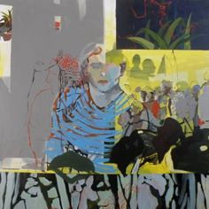 """Saatchi Art Artist Golnaz Afraz; Painting, """"la voie du réel"""" #art"""