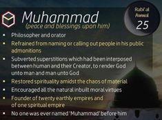 25 rabi ul awal 12th Rabi Ul Awal, Prophets In Islam, Allah God, Islamic Information, Spiritual Disciplines, Peace Be Upon Him, The Orator, Prophet Muhammad, Morals