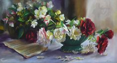Grace Notes by Mary Aslin Pastel ~ 12 1/4 x 22