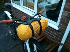 So... I'd already made the frame-bag  a few months ago, and this had proved invaluable for the bike-packing treks we'd done thus far (by treks, I really mean short distance overnighters...!). Ray...