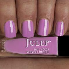 Julep LONDON Nail Color Treat Polish Heather Blossom Purple Creme BNIB #Julep