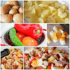 La ensalada campera es una receta fácil y rápida. Prepara recetas de verano saludables y ricas para toda la familia. No te pierdas esta sabrosa ensalada.