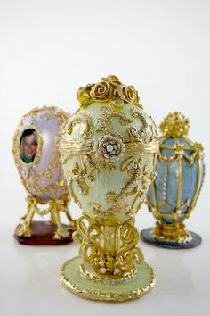 Faberge Egg Inspired Cake Toppers
