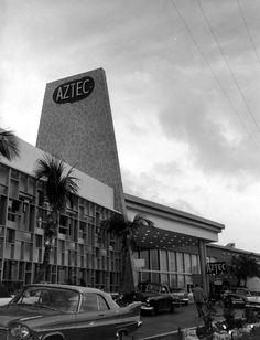 Florida Memory - Aztec Motel - Miami Beach, Florida1957
