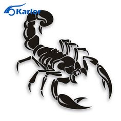 Car-Styling Personality Cover Scratches Before And After Bumper Scorpion Stickers Car Accessories – Car ID Best Deal Tribal Tattoos, Body Art Tattoos, Top Tattoos, Tatoos, Funny Stickers, Car Stickers, Sticker Shop, Sticker Design, Escorpion Tattoo