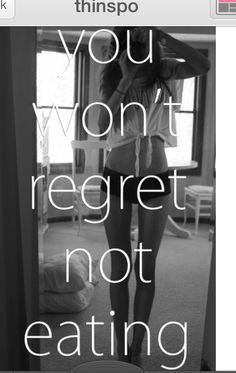 You won't regret not eating