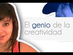 Sara Blanco habla de su genio de la creatividad. Ese genio, a ver si aparece en hora laboral!
