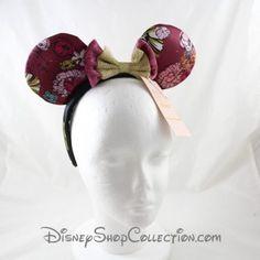 Disney Parks Coco Dia De Los Muertos Dentelle Minnie oreilles Nouveau Motif Fleuri Noir Bandeau