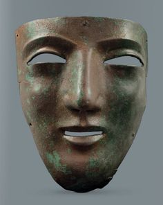 Roman parade mask, 50 More At FOSTERGINGER @ Pinterest