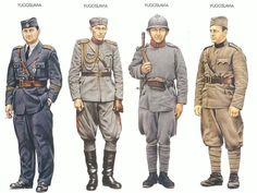 yugoslav army uniform 1930's - Google Search